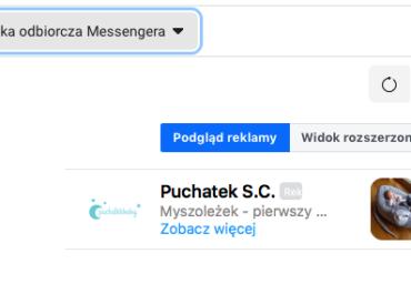 Skrzynka odbiorcza Messengera